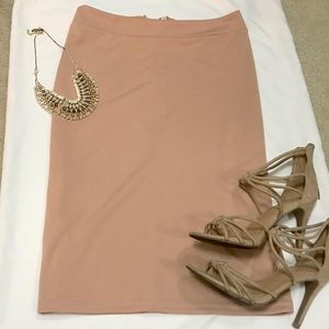 Dresses & Skirts - Pink Pencil Skirt